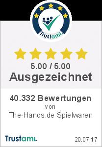 Trustami Vertrauenssiegel Box von markenspielwaren.de