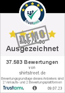 Trustami Vertrauenssiegel Box von shirtstreet.de