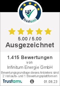 Trustami Vertrauenssiegel Box von solar-pac.de