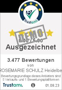 Trustami Vertrauenssiegel Box von Rosemarie Schulz GMBH