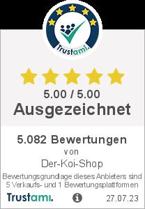 Trustami Vertrauenssiegel Box von Der-Koi-Shop GmbH & Co. KG