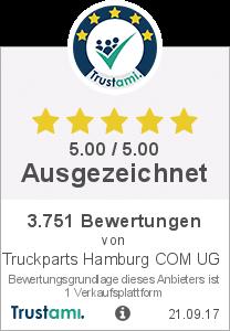 Trustami Vertrauenssiegel Box von Truckparts Hamburg Com