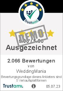 Trustami Vertrauenssiegel Box von WeddingMania