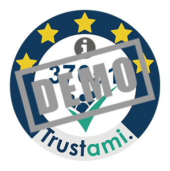 Trustami Vertrauenssiegel (Mini) von shirtstreet.de