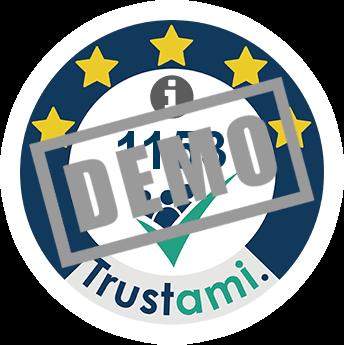 Trustami Vertrauenssiegel (Mini) von Ballon4You.de