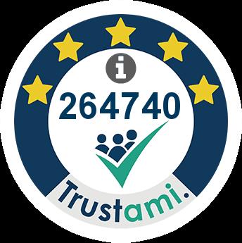 Trustami Vertrauenssiegel (Mini) von touriDat
