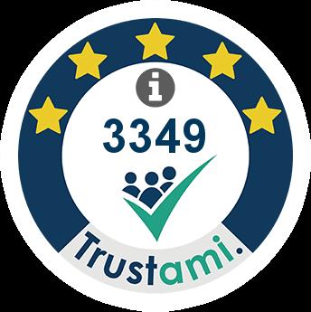 Trustami Vertrauenssiegel (Mini) von Jarrow Deutschland GmbH