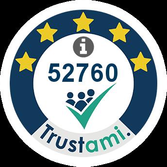 Trustami Vertrauenssiegel (Mini) von mySWOOOP® GmbH