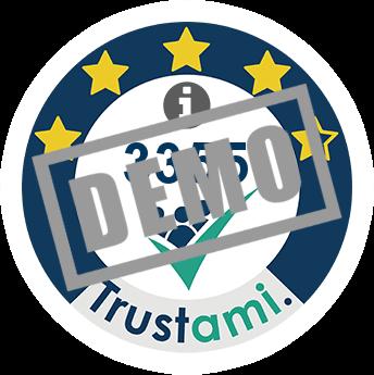 Trustami Vertrauenssiegel (Mini) von MemorySweets GmbH