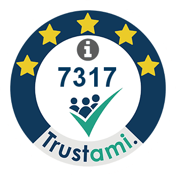 Trustami Vertrauenssiegel (Mini) von Mario Wegner