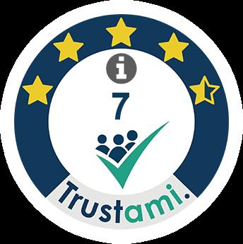 Trustami Vertrauenssiegel (Mini) von linkr