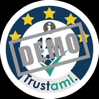 Trustami Vertrauenssiegel (Mini) von TASCHENKLASSE