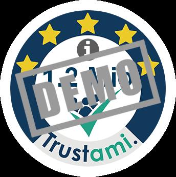 Trustami Vertrauenssiegel (Mini) von tectake.de