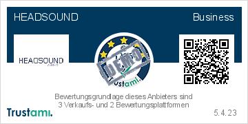 Trustami Trustami Vertrauenssiegel (Kompakt) von HEADSOUND audio GmbH